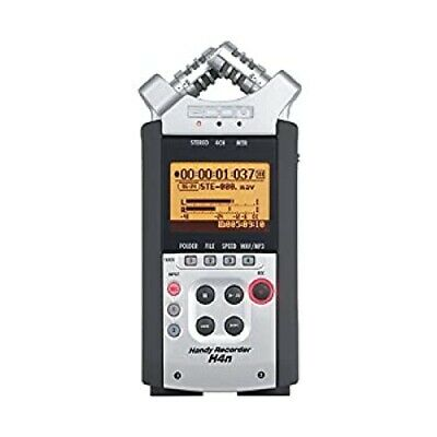 Used Zoom H4N PRO ALL BLACK Portable Handy Recorder From Japan