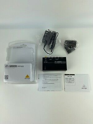 Behringer Microphono PP400 Phono Preamp #000-49202-00010