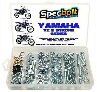 BOLT KIT YAMAHA YZ 80 85 125 250 YZ250 WR Seat Body Motor Fork Guard Cover  • 28.67£