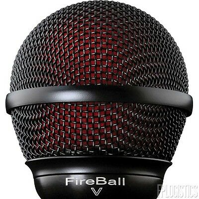 NEW Audix Fireball V Dynamic Microphone W/ Volume Control Harp, Beat Box • 96.78£