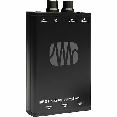 Presonus HP2 HP-2 Battery-Powered Stereo Headphone Amplifier New • 88.32£