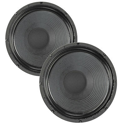 Pair Eminence Texas Heat 12  Guitar Speaker Patriot 4ohm 99dB 2 VC Replacement • 154.97£