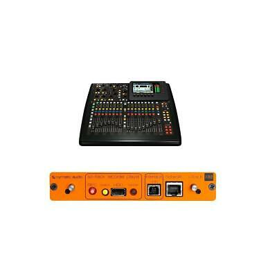 Behringer X32 40-Input Digital Mixing Console W/Cymatic Audio UTrack-X32 Recordr • 1,291.52£