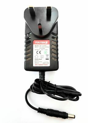 12v TC Helicon VoiceLive Touch 2 Vocal Processor Uk Mains Power Supply • 10.99£