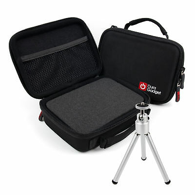 Hard Case W/ Foam Insert + Mini Tripod For Tascam DR-100MKIII, DR-22WL, DR-05 V2 • 17.49£