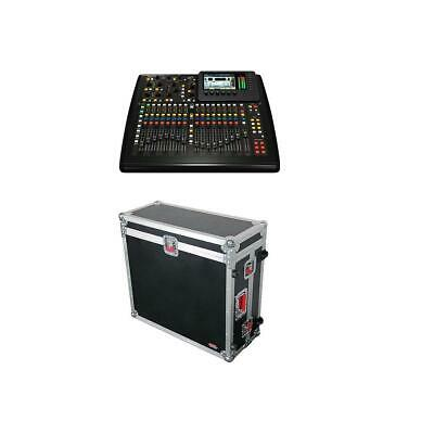 Behringer X32 40-Input 25-Bus Digital Mixing Console With Gator ATA Wood Case • 1,447.16£