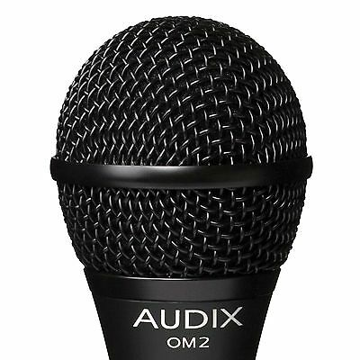 NEW Audix OM2 Dynamic Vocal Microphone OM-2 • 69.21£