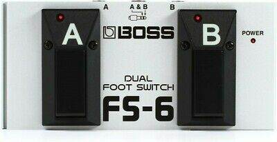 NEW - Boss FS-6 Dual Footswitch  • 54£