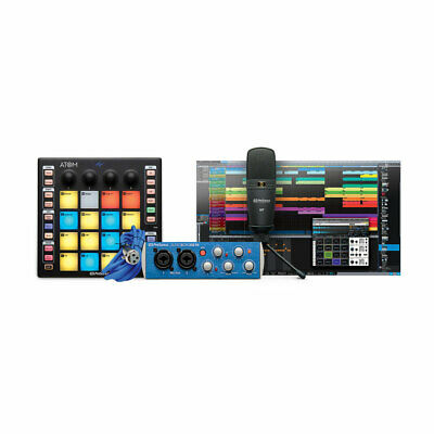 PreSonus ATOM Producer Lab: Pad Controller+Interface+Mic+Software New • 244.68£