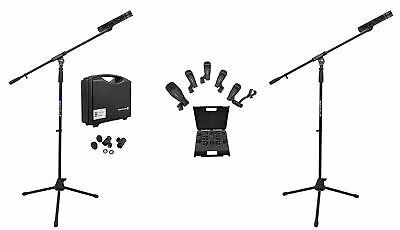 Beyerdynamic MC930-STEREO-SET Overhead Drum Microphones+Snare/Tom/Kick+Stands • 763.47£