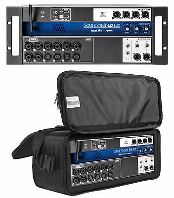Soundcraft Ui16 16 Input Digital Mixer+Wifi+App Control+Recording+Rack Case Bag • 321.88£