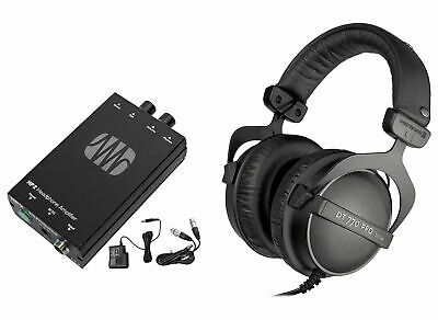 Beyerdynamic DT-770-PRO-32 Studio Tracking Headphones+Presonus Headphone Amp • 193.98£