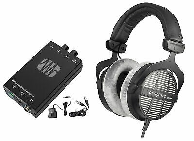 Beyerdynamic DT-990-PRO-250 Studio Tracking Headphones+Presonus Headphone Amp • 191.41£