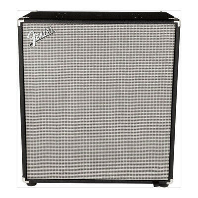 Fender Rumble 410 Bass Cabinet V3 Four 10  Eminence Speakers Black NEW • 315.92£