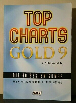 Top Charts Gold 9 + 2 Playback CDs. ISBN: 9783866263437. • 14.99£
