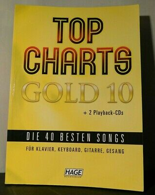 Top Charts Gold 10. ISBN: 9783866263772. • 14.99£