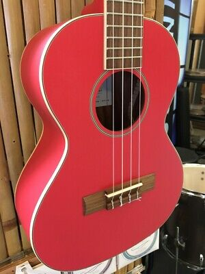 NEW KALA 13th Anniversary Coral Red Tenor Ukulele With Premium Gig Bag - THRTH-T • 160.69£