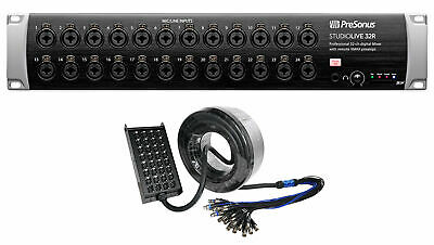 PRESONUS Studiolive 32R Stage Box For StudioLive Series III Mixers+Snake Cable • 1,334.59£
