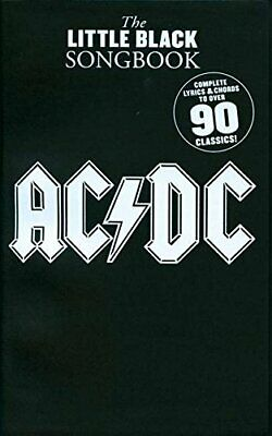 The Little Black Songbook Ac/Dc Lc By Various Book The Cheap Fast Free Post • 6.99£