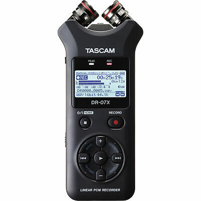 Tascam DR-07X 2-channel Handheld Recorder And 2-in/2-out USB Audio Interface New • 108.35£