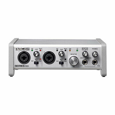 Tascam SERIES 102i 10 IN/2 OUT USB Audio/MIDI Interface New • 229.78£