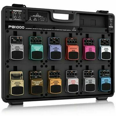 NEW Behringer PB-1000 Premium Powered Pedalboard For Effects Pedals • 176.92£