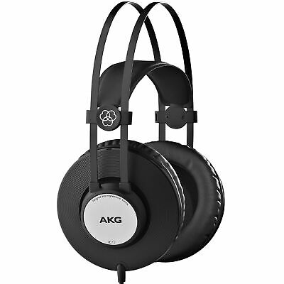 AKG K72 Closed-Back Studio Headphones For Live Sound Monitoring And Recording • 35.46£