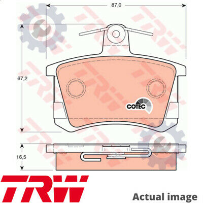 New Disc Brake Pads Set For Audi Zhonghua Brilliance Chery Ace Aad Aas Trw • 44.86£