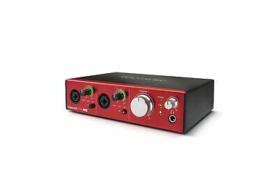 Focusrite Audio Interface 10 In 4 Out Ultra Low Noise AMS Clarett 2Pre USB New • 418.70£