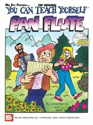 Mel Bay You Can Teach Yourself Pan Flute • 12.57£