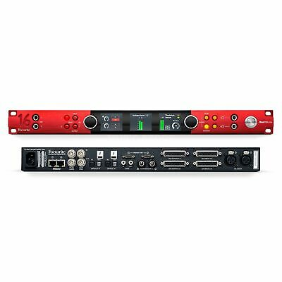 NEW FOCUSRITE RED 16LINE 64 X 64 HUNDERBOLT 3 AUDIO INTERFACE FOR PRO TOOLS • 2,200£