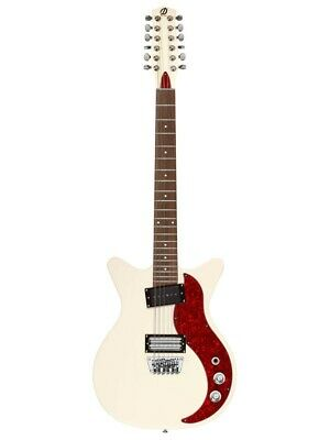 Danelectro 59X12 Cream Finish 12 String Solid Body Vintage Style Electric Guitar • 384.38£