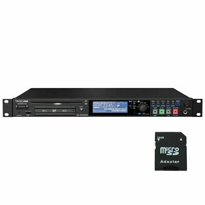 Tascam SS-CDR250N 2-Ch Networking CD And Media Recorder W/EV Music 32gb Card New • 831.76£
