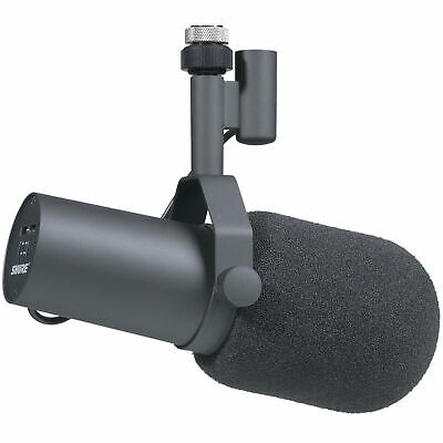 Shure SM7B Studio Vocal Microphone SM 7 7B Cardioid Dynamic Mic With Windscreens • 305.51£