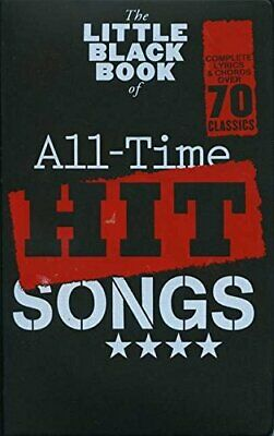 The Little Black Songbook: All-Time Hit Songs (Hal Leonard Europ) Book The Cheap • 10.99£