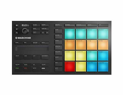 Native Instruments 25707 Maschine Mikro Mk3 Drum Controller Compact 1.6 GB New • 228.99£
