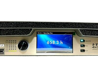 Crown I-tech 4x3500 Hd With Binding Post Version Power Amp #0604 658.3hrs (one) • 3,444.45£