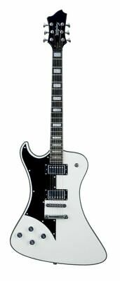 Hagstrom FANT-L-WHT Left Handed Fantomen Electric Guitar. White • 769.79£