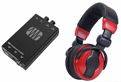 Presonus HP2 2 Channel Headphone Amplifier System HP-2+Free Samson Headphones • 106.73£