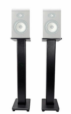 (2) Rockville 28  Studio Monitor Speaker Stands For Focal Shape 40 Monitors • 62.02£