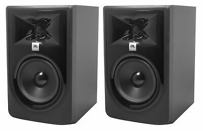 (2) JBL 305P MkII 5  2-Way Powered Studio Reference Monitors Monitoring Speakers • 228.46£