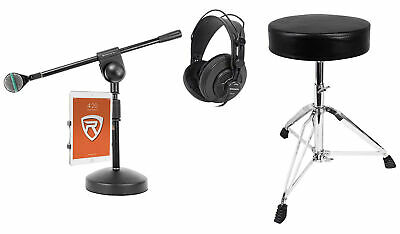 AKG D112 MKII Kick Drum Bass Guitar Microphone+Boom+iPad Mount+Throne+Headphones • 199.06£