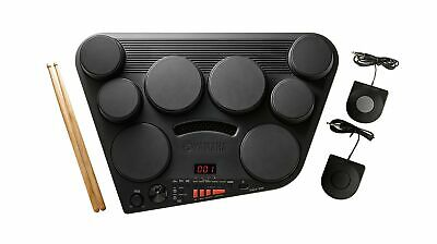 Yamaha DD75 Portable Digital Drums With 2 Pedals And Drumsticks - Power Adapt... • 192.30£