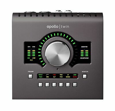Universal Audio Apollo Twin MKII Duo (APLTWDII) Machine Only • 712.99£