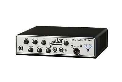 Aguilar Tone Hammer 500-Watt Bass Amplifier Head Black • 713.28£
