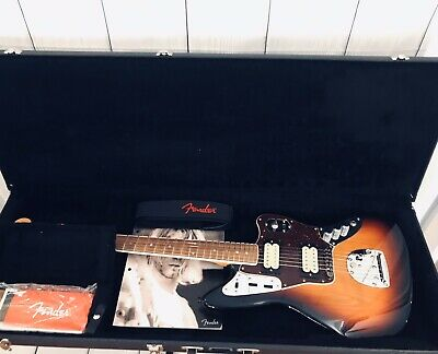 Fender Artist Kurt Cobain Jaguar Electric Guitar Including Hard Shell Case • 999.27£