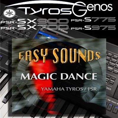 Yamaha PSR-SX900/700, S-series, Tyros, Genos *ES MAGIC DANCE* Expansion Pack • 9.99£