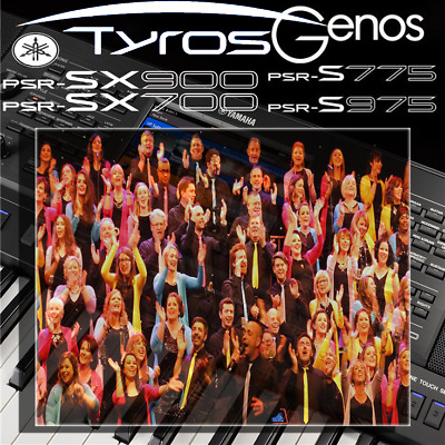 Yamaha PSR-SX900/700, S-series, Tyros, Genos *PREMIUM CHOIR* Expansion Pack • 14.99£