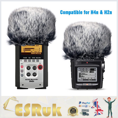 Windscreen Muff For Zoom H2n/H4n Handy Recorders, Zoom Mic Dead Cat Fur Winds... • 14.69£