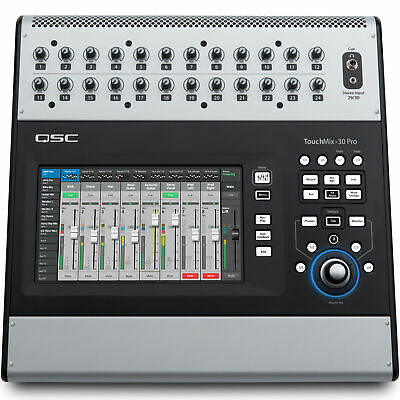 QSC TouchMix 30 Pro Thirty Channel Digital Touch Screen Mixer • 1,635.44£